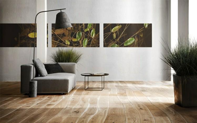 cuadros luces diseños plantas lamparas