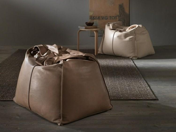 cuero alfombra sillas informal paredes