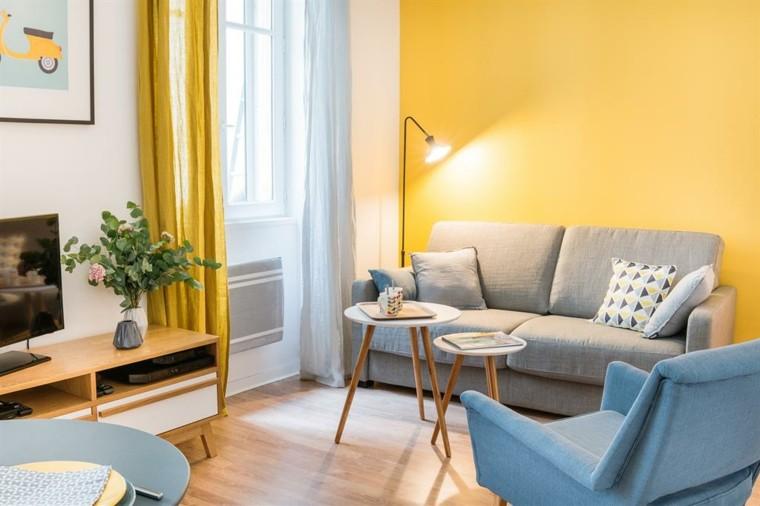 Colores para salones c mo decorar con buen gusto - Decoracion salon amarillo ...