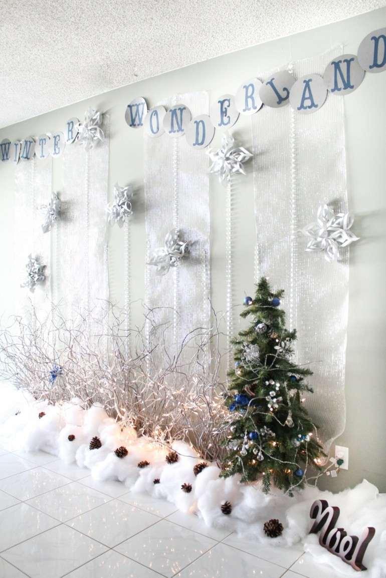deco navidad algodon blanco