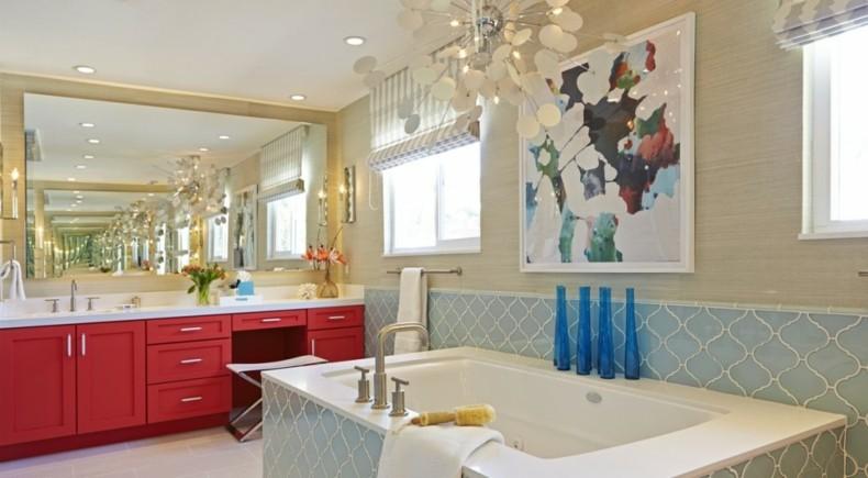deco baño moderno varios colores