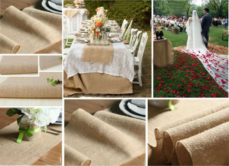 manteles mesas deco boda