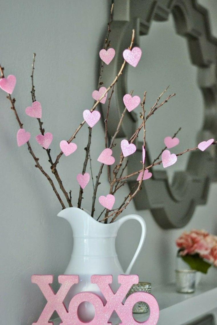 decoración moderna san valentin