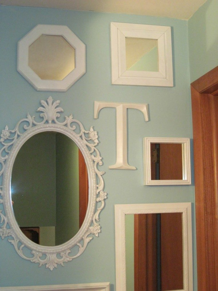 Espejos vintage dise os retro que marcan estilo for Decoracion de espejos rectangulares