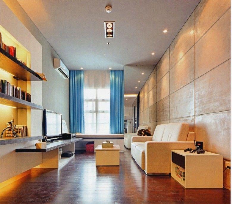 deco salon piso estilo loft