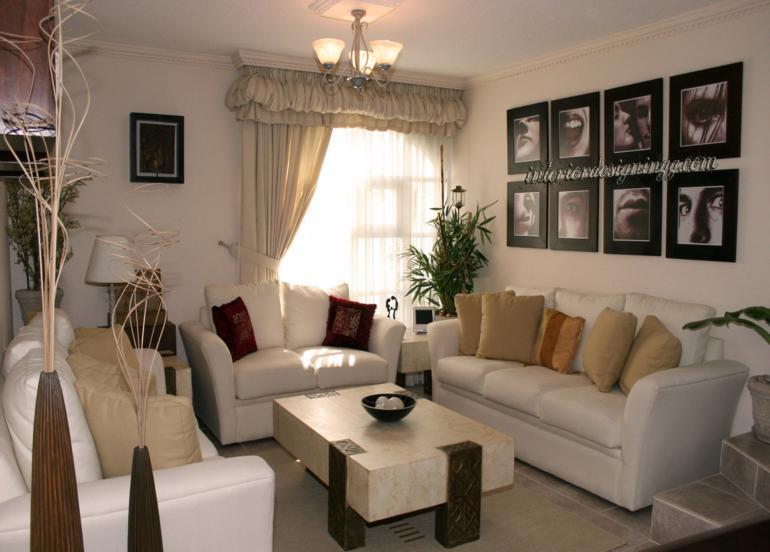 Decoracion salon ideas alucinantes para esta temporada for Living room for small spaces photos philippines