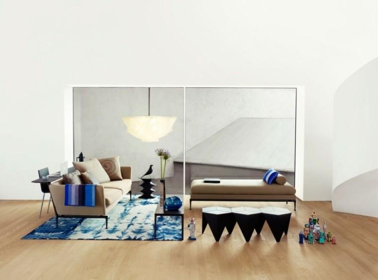 decoración de salones minimalismo nordico
