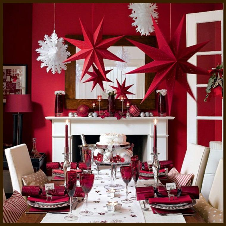 deco navideña color rojo