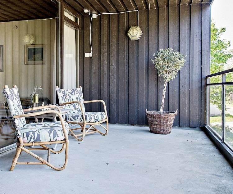 Persianas vallas y rejas de madera para la terraza - Terrazas de madera rusticas ...