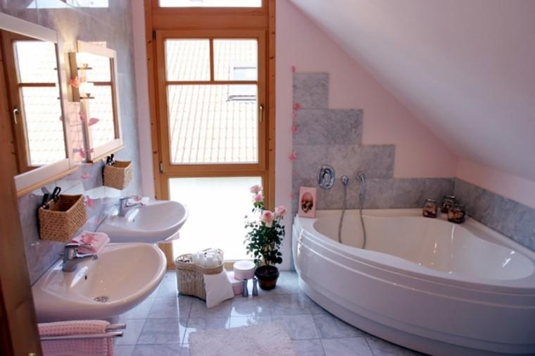 Jacuzzi Baño Pequeno:decoracion baño flores jacuzzi pequeno ideas
