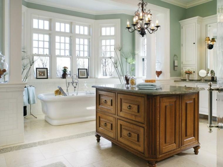 Decoracion Baño Grande:decoracion baños modernos grandes estilo retro ideas