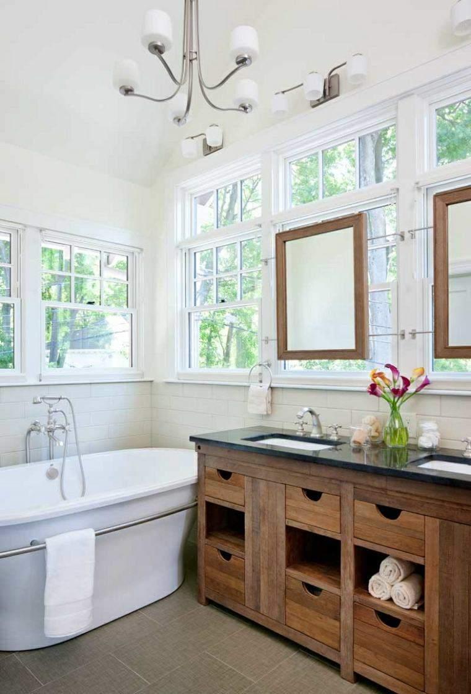 Decoracion Baños Grandes Modernos:Decoracion baños con acentos modernos – 38 ideas -
