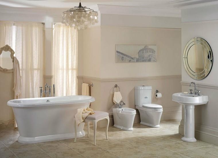 Decoracion baños con acentos modernos   38 ideas