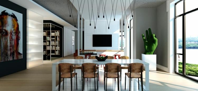 decoracion-casas-diseño-lampara