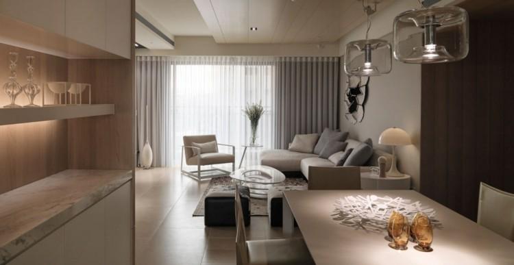 decoracion casas ideas detalles encimeras marrones