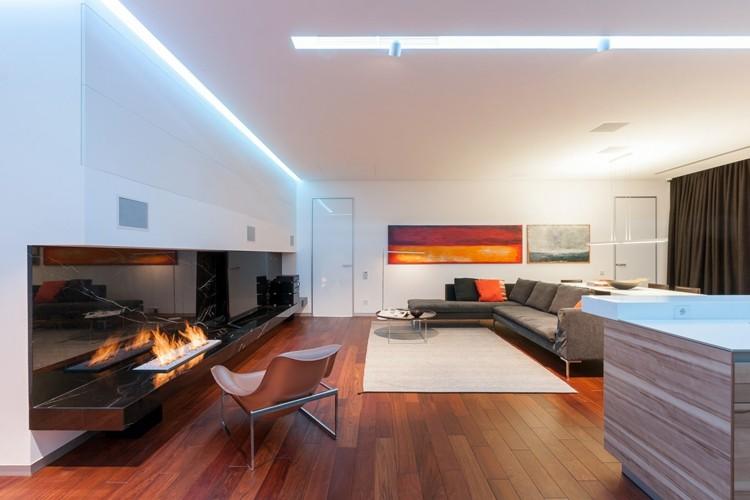 decoracion casas ideas suelos cojines madera