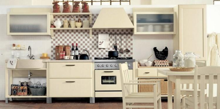 decoracion cocinas diseños gallina gallina