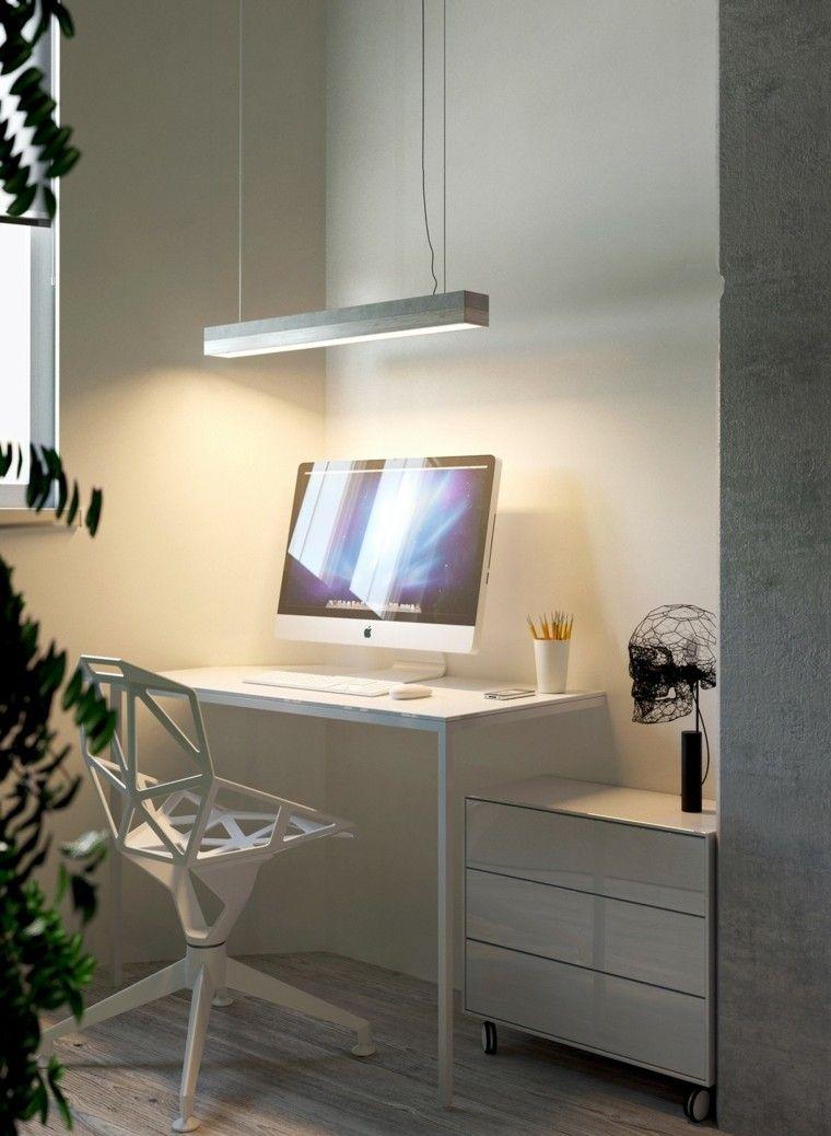 decoracion de casas ideas craneo lampara escritorio