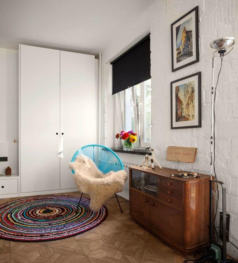 decoracion de casas ideas diseños colorido alfombras