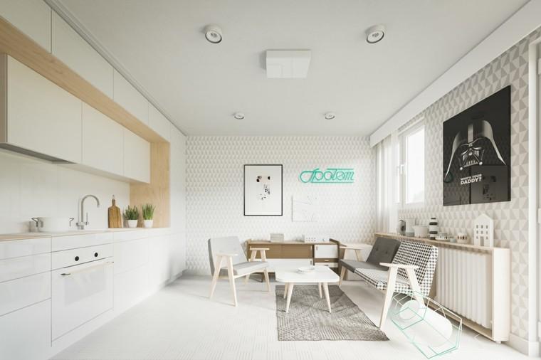 decoracion de casas ideas plantas minimalista