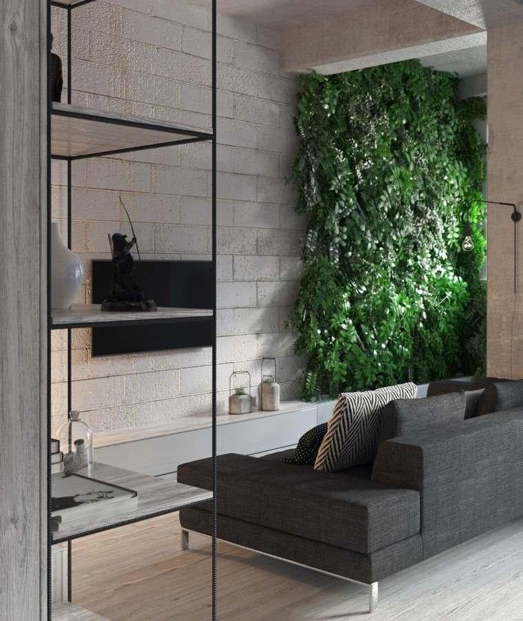 decoracion de casas ideas verticales jardines
