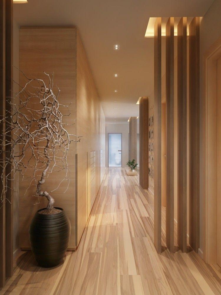 decoracion de interiores ramas maceteros macetero
