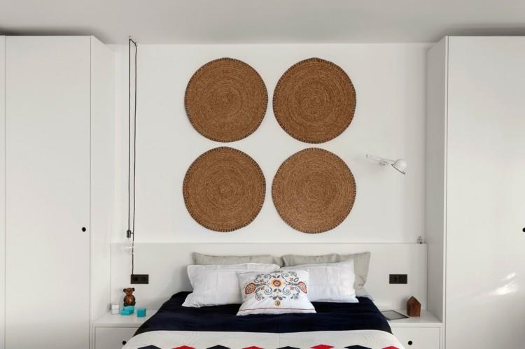 decoracion de interiores redondos paredes cojines