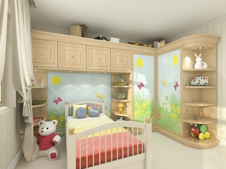Decoracion dormitorios infantiles para ni os y ni as for Colores para dormitorios de ninos