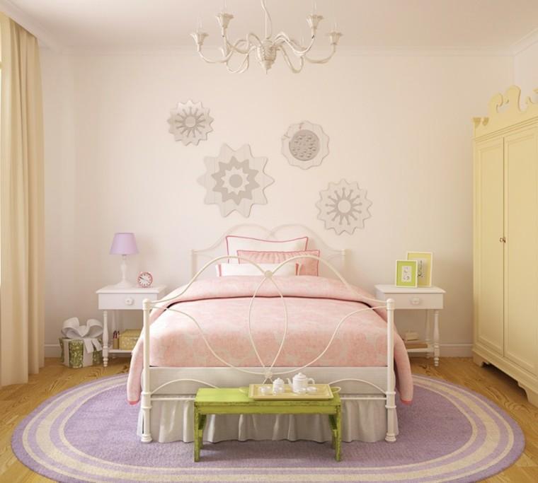 decoracion dormitorios infantiles cama grande ideas