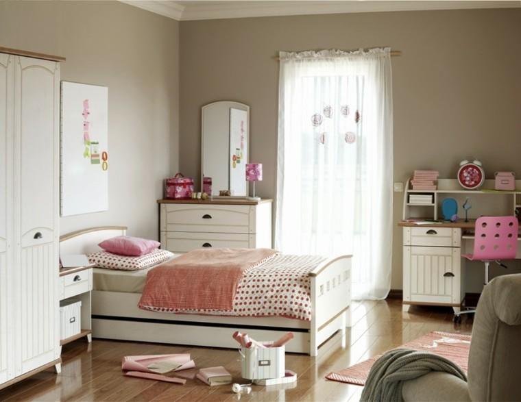decoracion dormitorio infantiles color beige ideas
