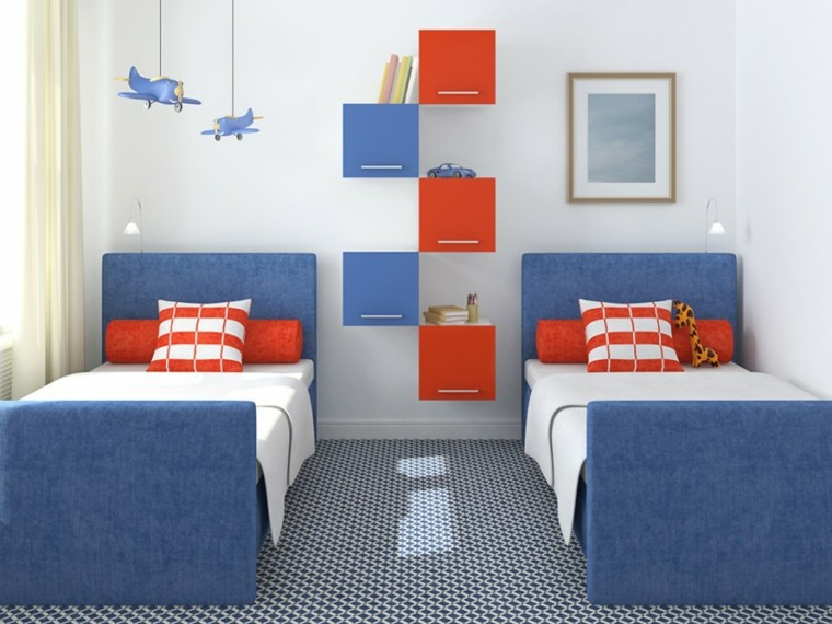 Decoracion dormitorios infantiles para ni os y ni as for Dormitorio infantil 2 camas