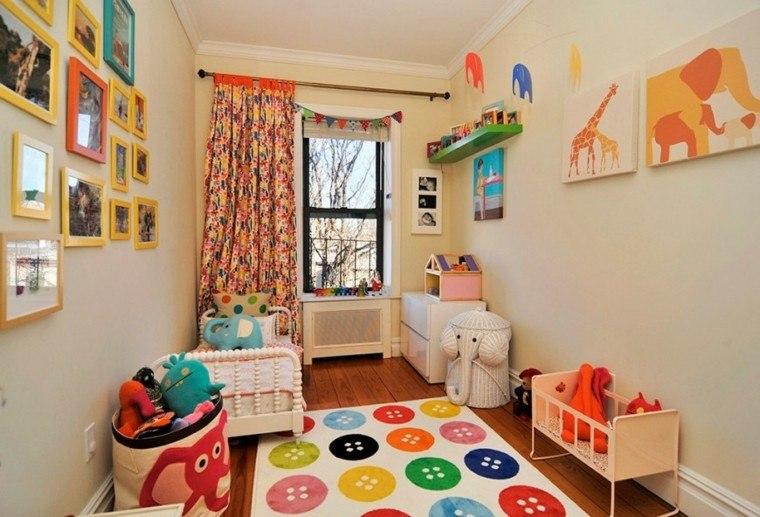 decoracion dormitorio infantiles fotos pared ideas