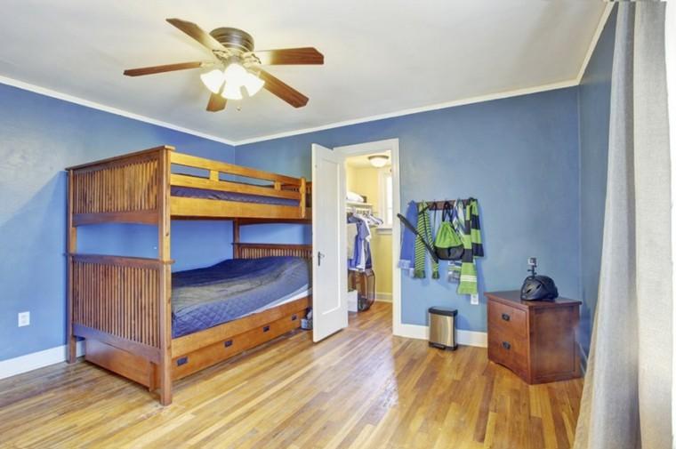 decoracion dormitorio infantiles literas chicos ideas