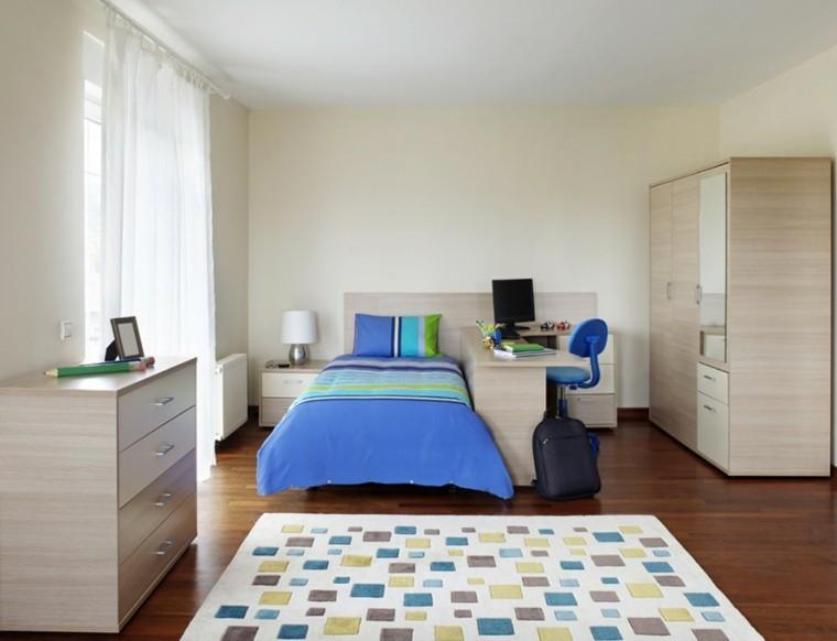 decoracion dormitorio infantiles muebles madera ideas