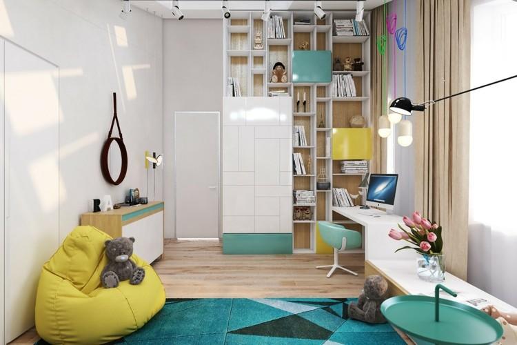 decoracion-dormitorios-infantiles alfombras-oso