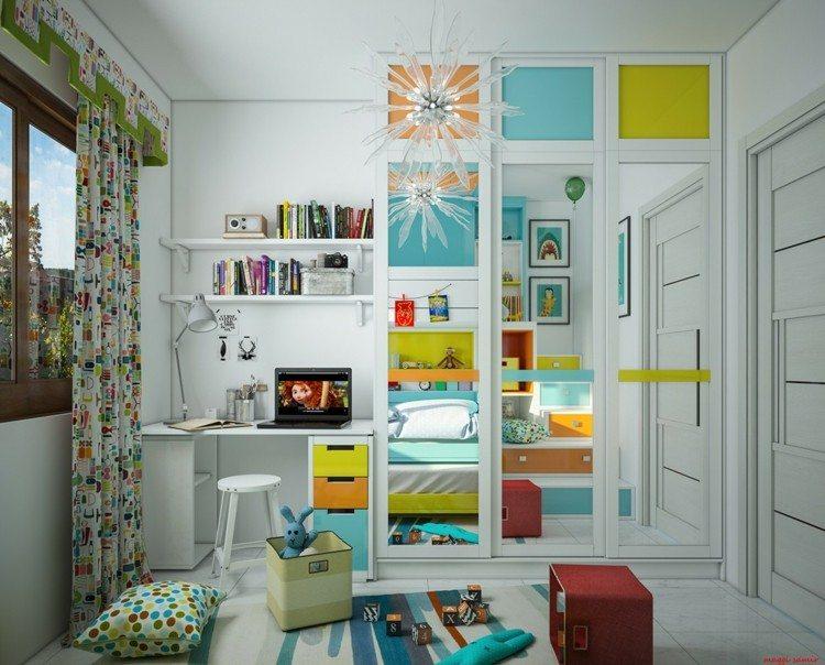 decoracion dormitorios infantiles cajas lamparas