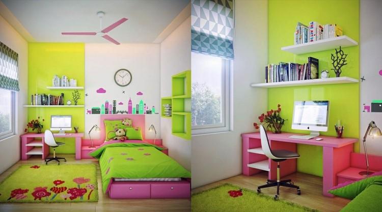 decoracion dormitorios infantiles rosa juguetes flores