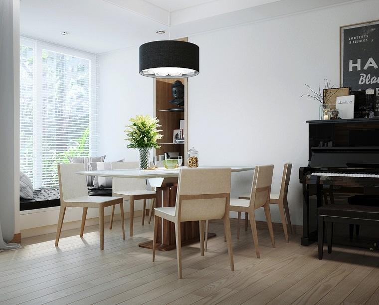 Decoracion interiores: 37 ideas de comedores modernos -