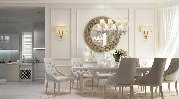 decoracion interiores comedor lujoso ideas