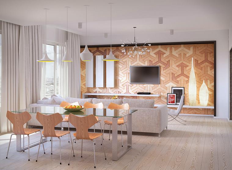 decoracion de interiores comedor sillas madera ideas