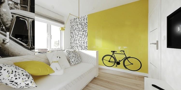 decoracion interiores variantes bicicleta negro