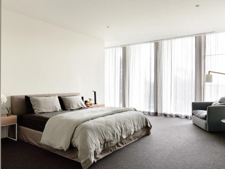 decoracion moderna dormitorio sillon cama grande ideas