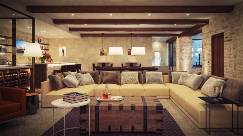 Decoracion rustica 36 ideas de salones acogedores - Ideas decorar salon moderno ...