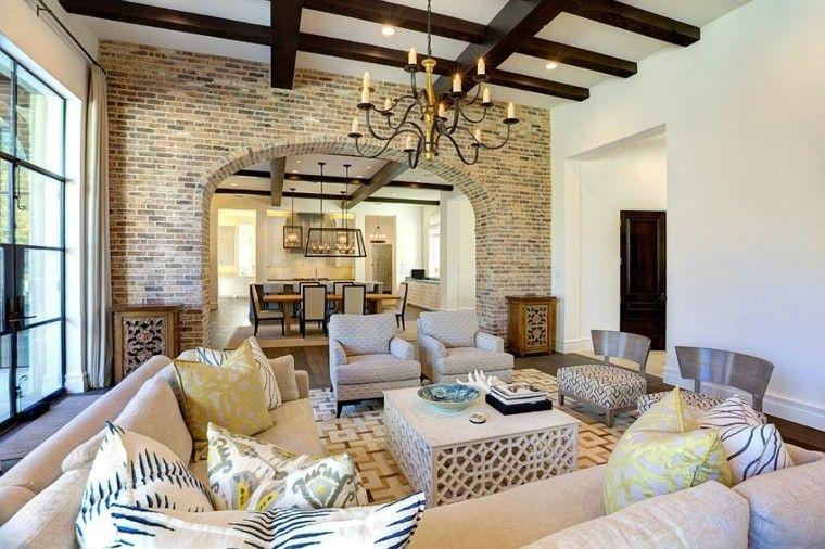 decoracion salon interior estilo meditarraneo ideas