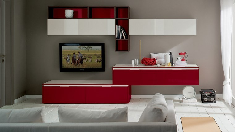 Decoracion salones e ideas para muebles modernos - Ideas muebles salon ...