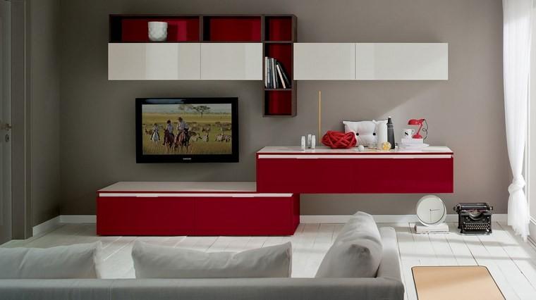 Decoracion salones e ideas para muebles modernos for Salones en color blanco