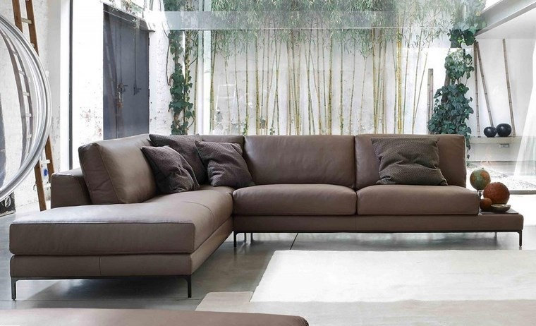 decoracion salones modernos sofa angulo ideas