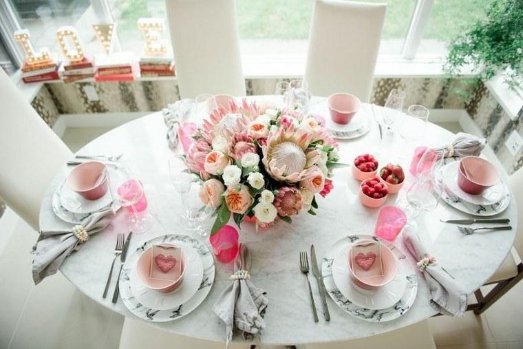 decoracion san valentin preciosa desayuno amigos ideas