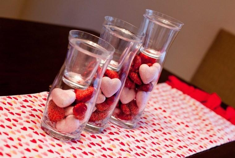 san valentin preciosa jarones corazones ideas