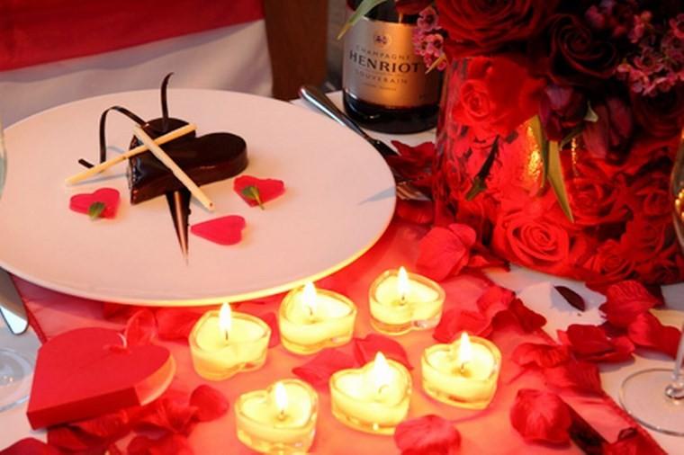 san valentin preciosa mesa bonita ideas